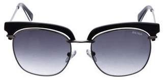 Balmain Gradient Square Sunglasses