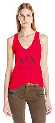 Armani Exchange A|X Women's Tank Top/Cami Shirt