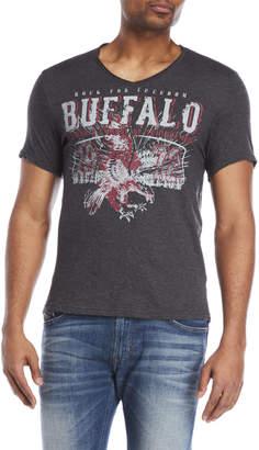 Buffalo David Bitton Nosmin Graphic V-Neck Tee