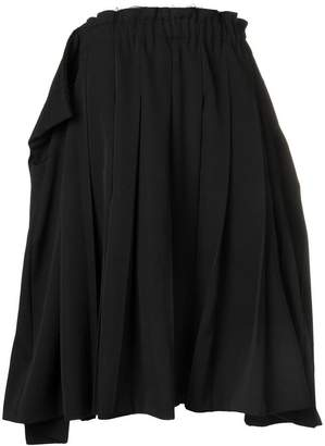 Comme des Garcons oversized pleated skirt