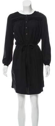 Megan Park Silk Knee-Length Dress