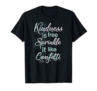 Teacher Motivational T-Shirt-Kindness Is Free Sprinkle It
