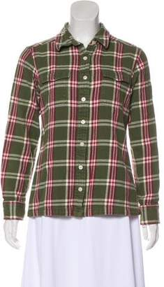Patagonia Plaid Long Sleeve Button-Up