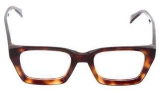 Celine Tortoiseshell Square Eyeglasses w/ Tags