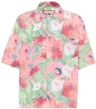 Plan C Floral-printed shirt