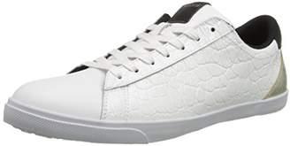Just Cavalli Men's Croco Patent Leather Fashion Sneaker