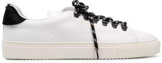 Paolo Pecora contrast laces sneakers