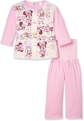 Disney (ディズニー) - [ディズニー] DBミニー長袖練習パジャマ ガールズ 331107711 ピンク 日本 90 (日本サイズ90 相当)