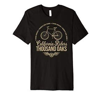California Riders - Thousand Oaks Bicycle - Cycling T-shirt