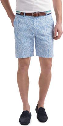 Vineyard Vines 7 Inch Linear Marlin Print Breaker Shorts