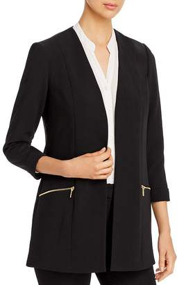 T Tahari Three-Quarter-Sleeve Blazer