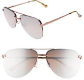 06f9d8f70fd54 Quay Australia x JLO The Playa 54mm Aviator Sunglasses.  60. shopstyle