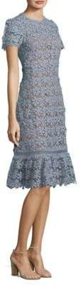 MICHAEL Michael Kors Floral Lace A-Line Dress