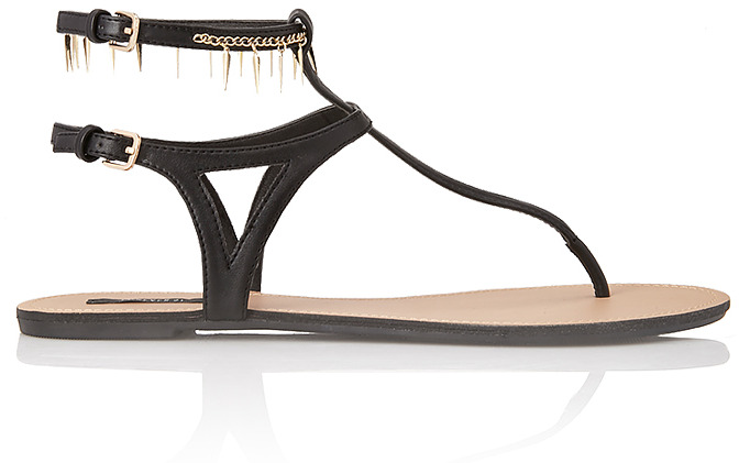 Forever 21 Secret Rebel Spiked Sandals
