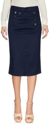 PEOPLE LAB. Knee length skirts - Item 35354445VK