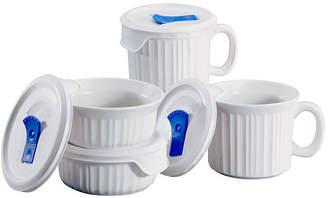Corningware French White 8-pc. Pop-In Mug Set