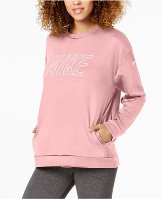 Nike Therma Fleece Logo Training Sweatshirt