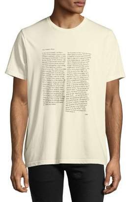 Ovadia & Sons Men's The Hidden Place Typographic T-Shirt