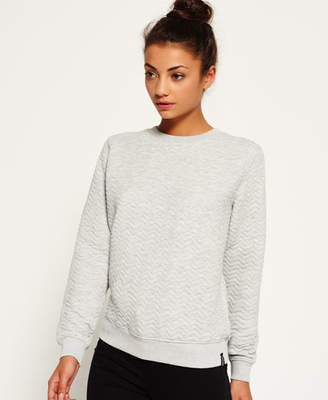 Superdry Quilted Nordic Crew Sweater