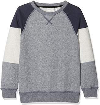 Name It Boy's Nitingo Bru SWE M NMT Sweatshirt,(Manufacturer Size: -140)
