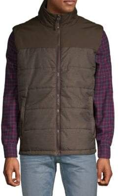 Champion Herringbone Quilted Nylon Vest