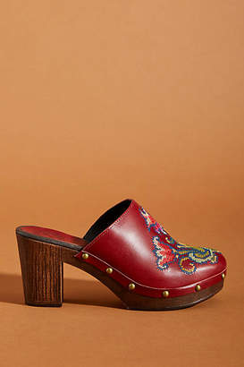 Penelope Chilvers Embroidered Clogs