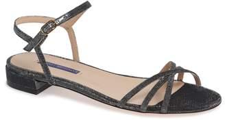 Stuart Weitzman Starla Quarter Strap Flat Sandals