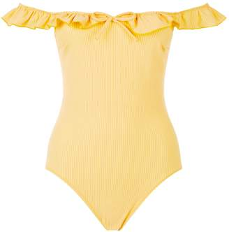 Solid & Striped Amelia Ruffle Swimsuit