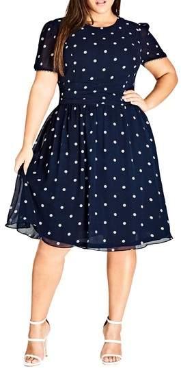 Melody Polka Dot Dress