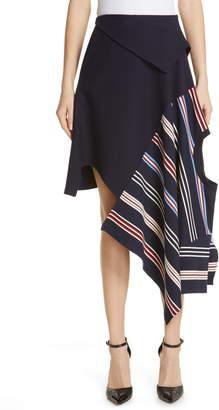 Monse Deconstructed Stripe Skirt