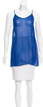 Etoile Isabel Marant Sleeveless Semi Sheer Top
