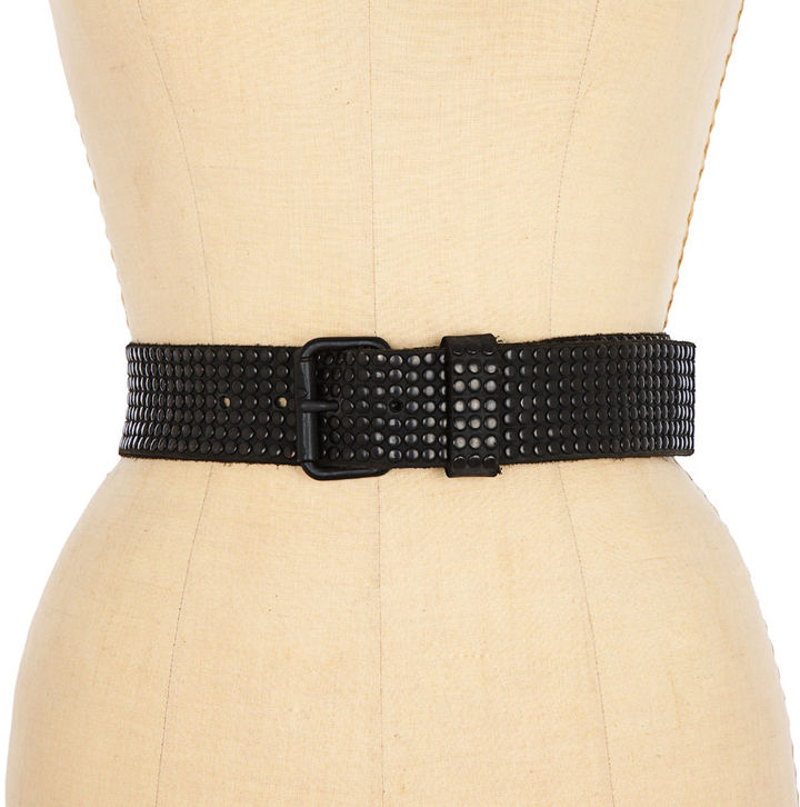 HTC Italy 10,000 Studs Belt - Black