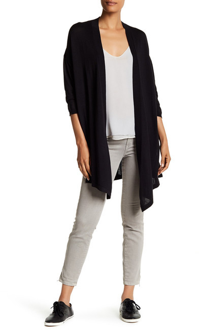 Anne Klein Anne Klein Side Split Cardigan