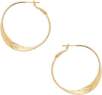 8 Other Reasons Etched Hoop Earrings