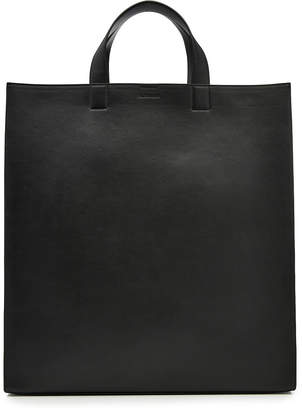 Layout Leather Tote