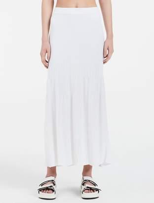 Calvin Klein rayon blend maxi skirt