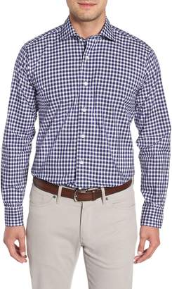 Peter Millar COLLECTION Regular Fit Boucle Gingham Sport Shirt