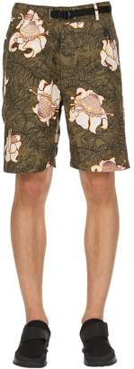 Nike Floral Cotton Shorts