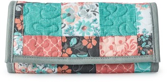 Donna Sharp Margo Quilted Vegan Bi-Fold Wallet