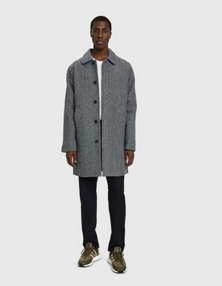 A.P.C. Ivan Tweed Overcoat