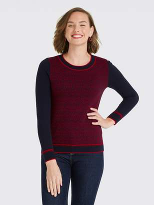 Draper James Magnolia Fair Isle Sweater