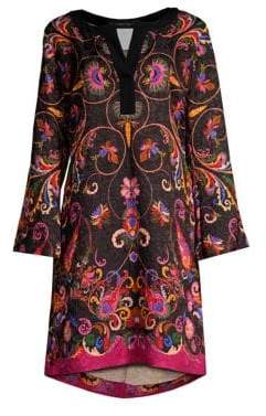 Etro Paisley Kaftan Tunic Dress