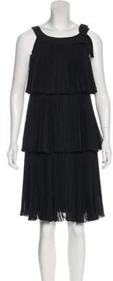 RED Valentino Silk Knee-Length Dress