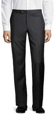 Lauren Ralph Lauren Straight-Leg Wool Tuxedo Pants
