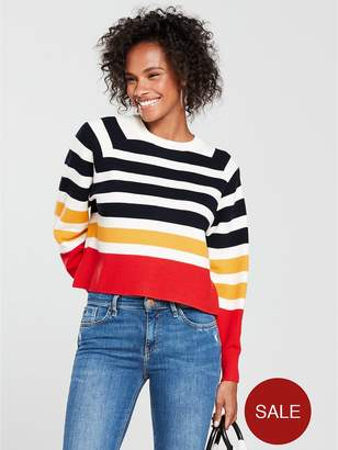MANGO Stripe Jumper - Multi