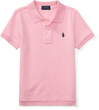 Ralph Lauren Childrenswear Short-Sleeve Logo Embroidery Polo Shirt, Size 4-7