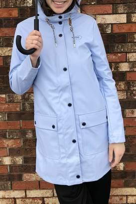 Tom Tailor Baby Blue Raincoat