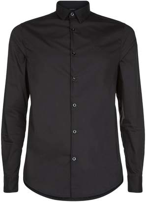 Armani Jeans Cotton Collar Shirt