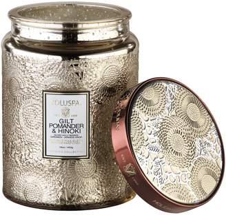 Voluspa Gilt PomanderLarge Glass Jar