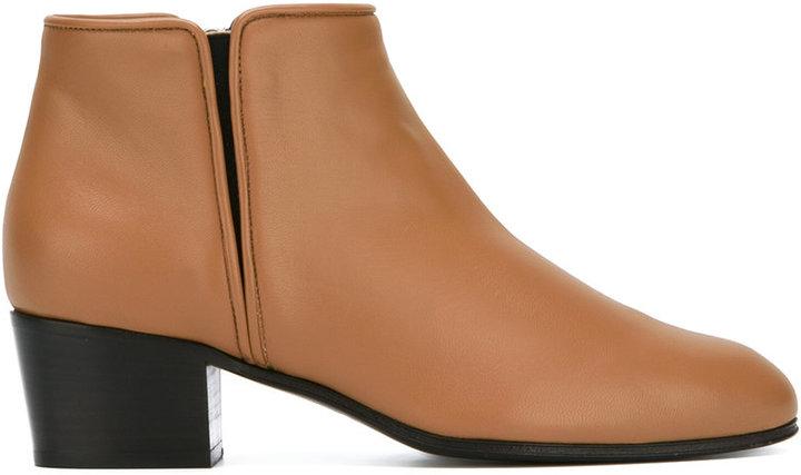 Giuseppe Zanotti Design low heel chelsea boots